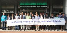 International railways officials visit KRRI  이미지